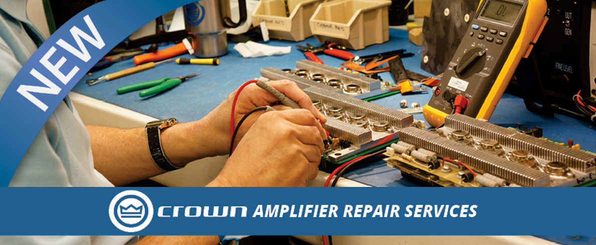 Crown Amplifier Repair Services