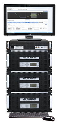 3110 system with three 7548 amplifiers