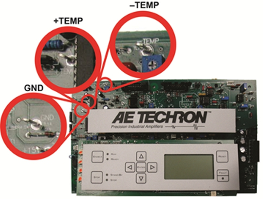 temperature monitor points